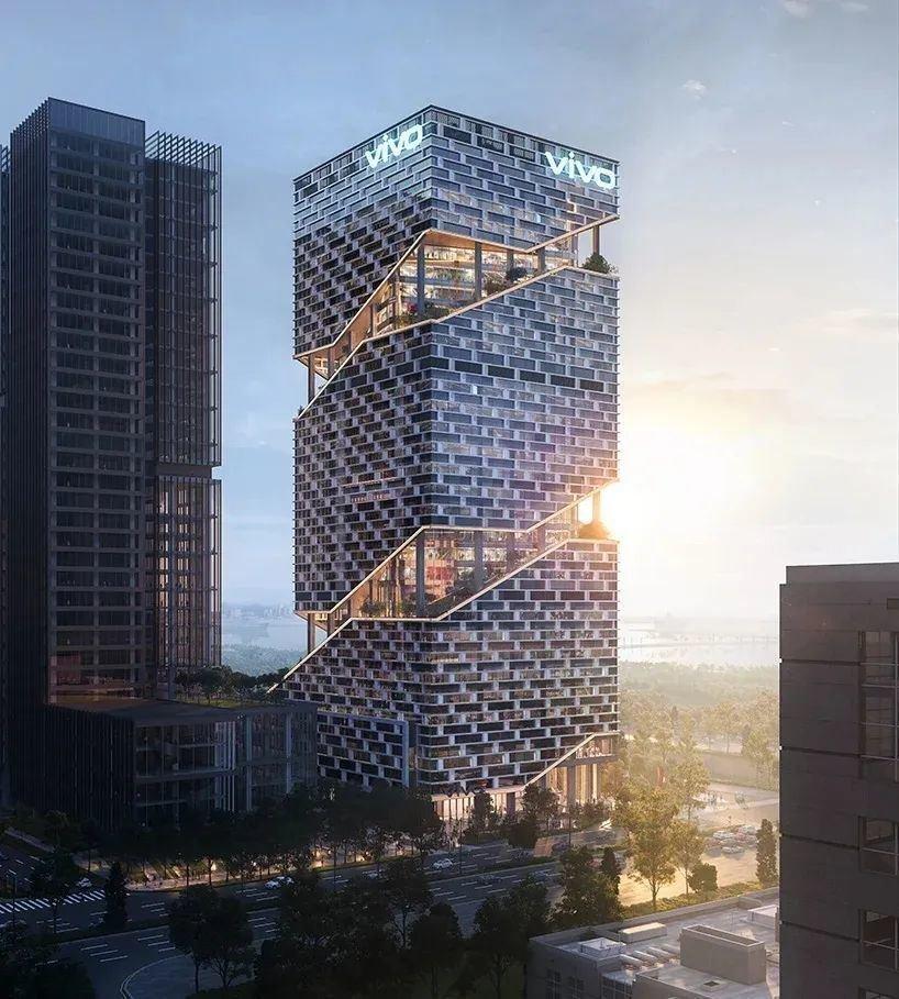 高层办公楼建筑设计:vivo总部办公楼/案例