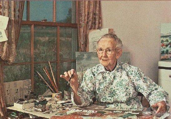 """""""人生永远没有太晚的开始"""",像摩西奶奶一样去画画吧!"""