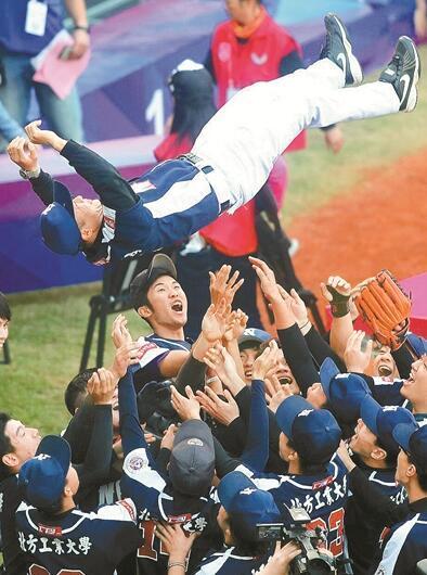 首届海峡两岸学生棒球联赛总决赛落幕