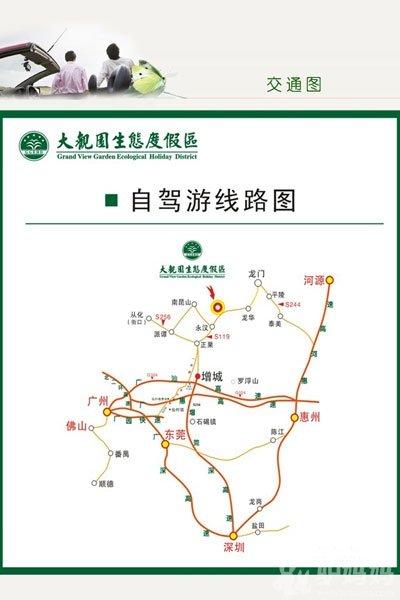 昆山旅游手绘地图