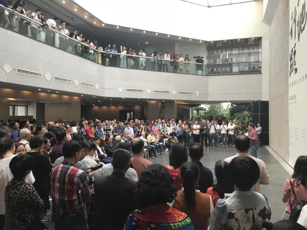 """""""大地行踪——郝鹤君山水画展""""在广东美术馆开幕"""
