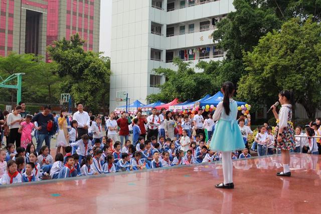 莲花小学首届美味美肴文皓节揭幕啦