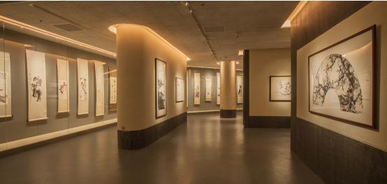 """和畅园博物馆""""中国书画""""展厅图片"""