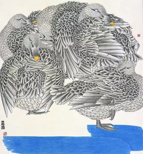 艺术家邹孟染