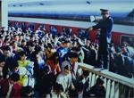 老照片回望广州火车站40年