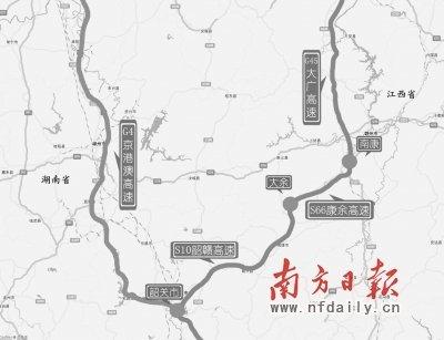 广东省交管局发布中秋国庆高速十大易堵路段
