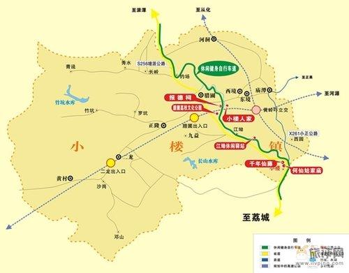 白水寨景区地图
