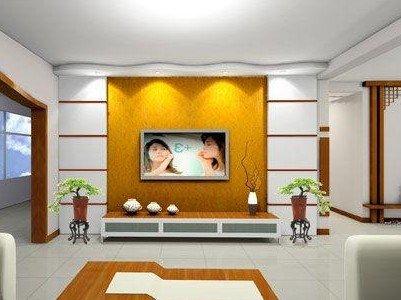 客厅电视背景墙风水禁忌 关系幸福