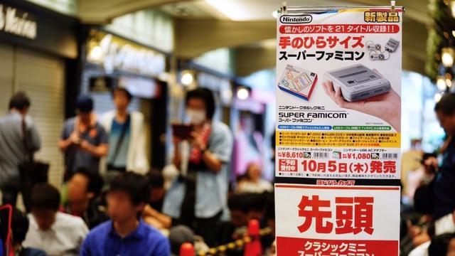 迷你超任Mini Super Famicom日本热卖!炒价直逼超任