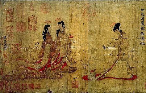 英国人25英镑买走中国最贵古画图片