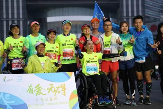 本来生活助力广州马拉松,跑出生命本色