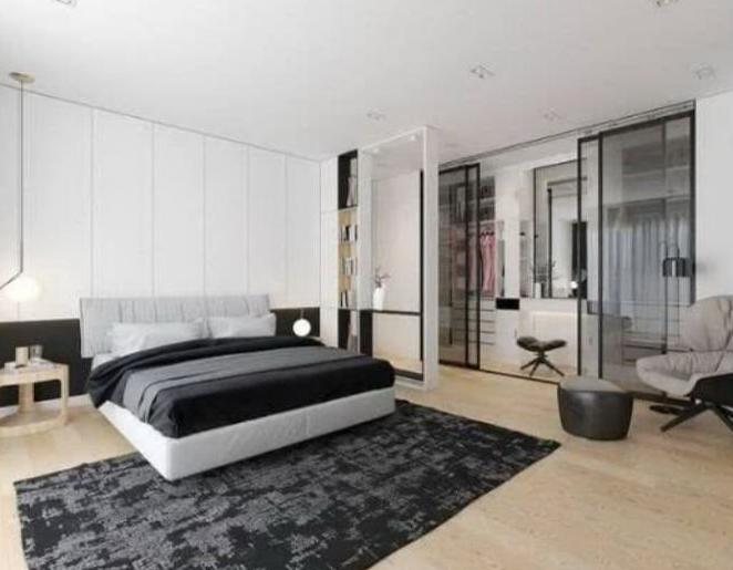 如何在卧室设计一个5㎡的衣帽间?
