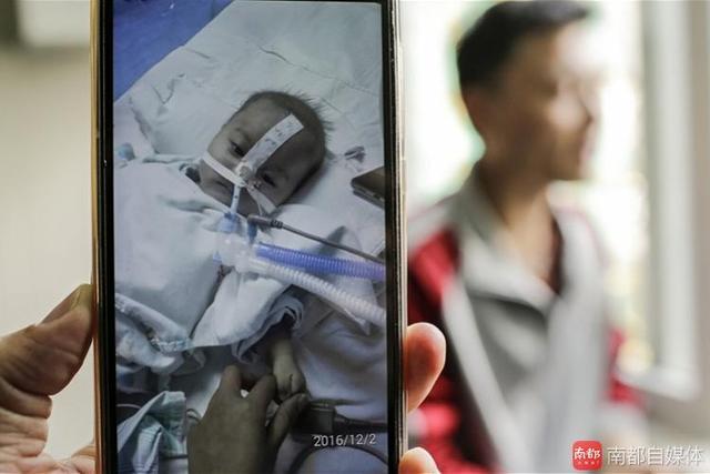 佛山4个月大娃或1天1天瘫痪下去 终身离不开呼吸机