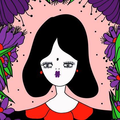 插画家La Fille Bertha 笔下的淡然女子画像>         <span class=