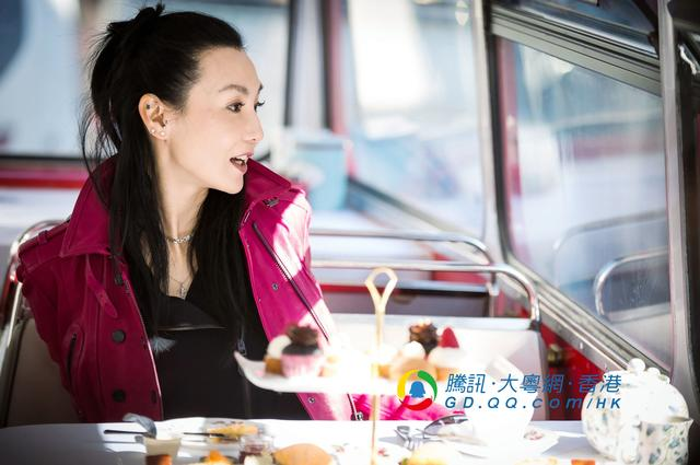 """张曼玉与谢霆锋漫游伦敦 女神原来是""""吃货"""""""