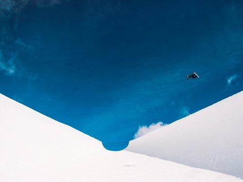 滑板滑雪(瑞士Laax)