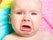 被宝宝吓到,不仅吐了还一直哭