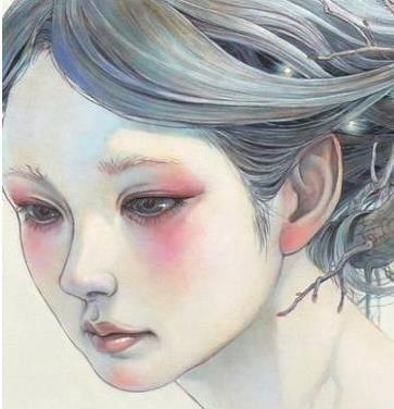 笔下的精灵!被自然围绕的空灵少女