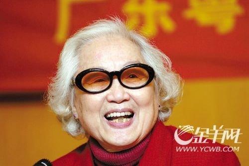 感动广州60年最美女性:红线女