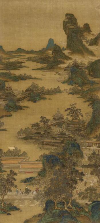 张大千《烟江独钓》领衔纽约亚洲艺术周