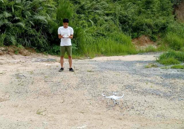 9台无人机助力英德白沙镇巡山防非法盗采稀土矿