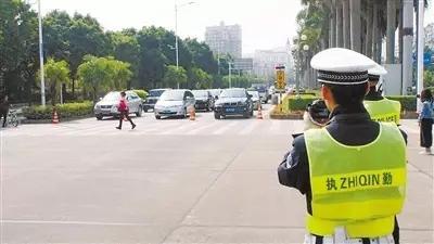 文明交通安全出行,珠海交警在行动!