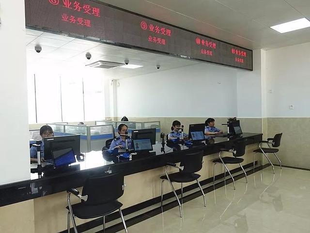 珠海市车管所新港查验业务大厅正式启用