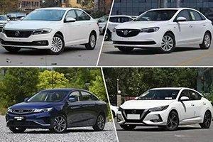 欧美中日的代表作 4款紧凑级家轿行情调查