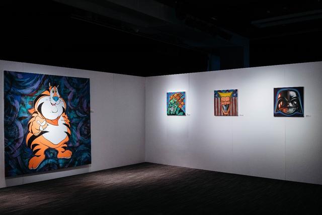 美国著名「街头艺术教父」艺术展