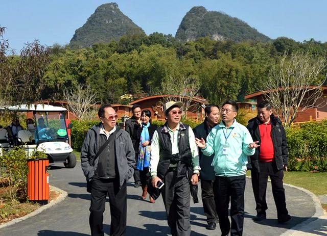 台湾台中市总工会代表团莅临九龙小镇考察调研