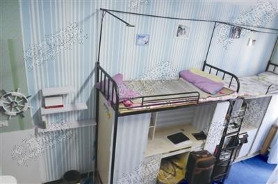 小清新地中海风格的男生寝室.图片