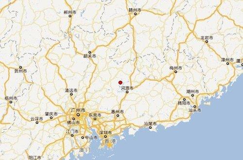 河源凌晨2时发生4.8级地震 震源深度13千米
