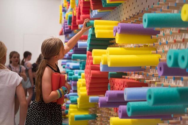 日常用品做成互动装置 让孩子亲手创作