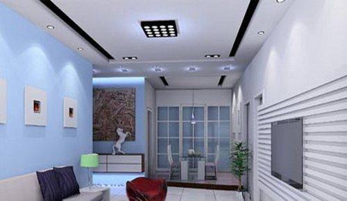 小户型客厅 打造简约欧式风格