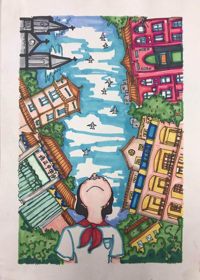 一带一路小使者·百年名校耀羊城——广州市学生手绘明信片大赛完满