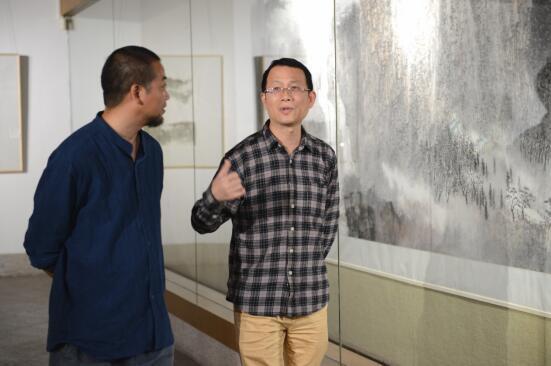 游心太行——何海阔山水画展在高剑父纪念馆开幕