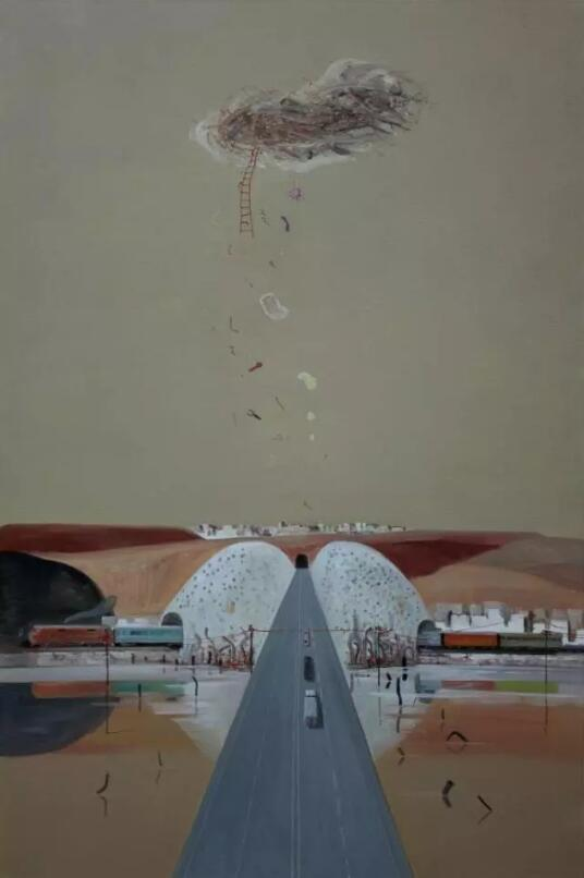 天空·传说——江山作品展10月13日在佛山开幕