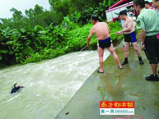 惠州连日强降雨连发3起溺水事务 一8岁小孩溺亡