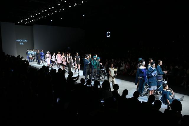 MAISONLUYU 鲁遇2016 秋冬时装发布大秀震撼深圳时装周