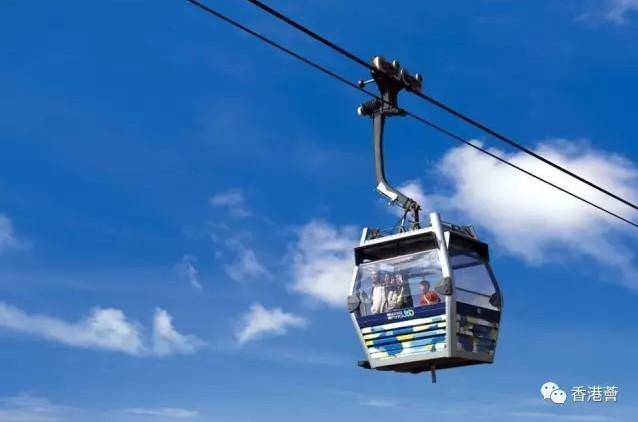 昂坪360被评为世界十大最佳缆车之一