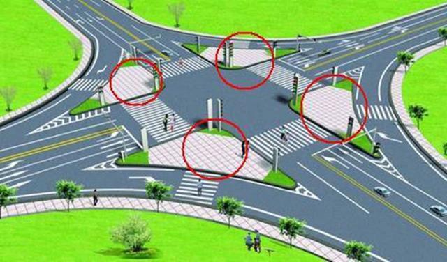 路口商业总平面图