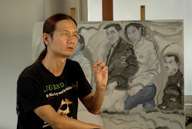 艺术家邓箭今