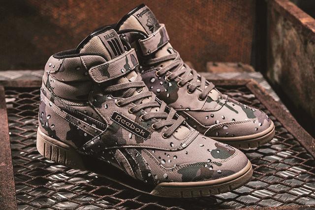 Reebok Classic与Major联手 打造Hip-Hop军佬鞋