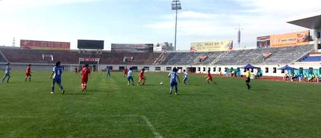 英德红茶女子足球队晋级全国青年女足联赛总决赛