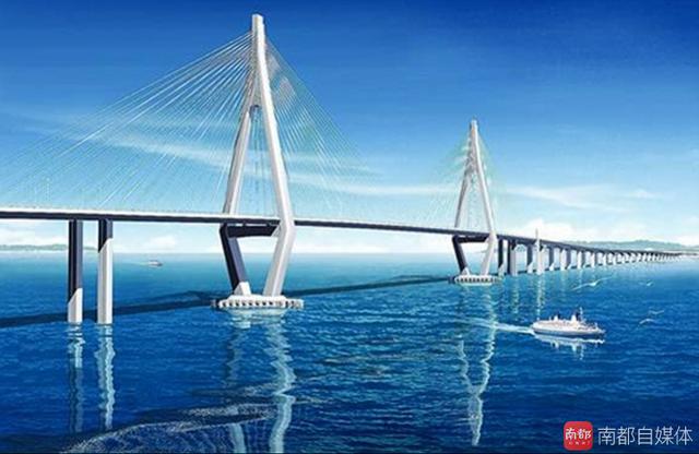 拱北湾城市综合区域.-世界最长跨海大桥有大动作 港珠澳大桥最新