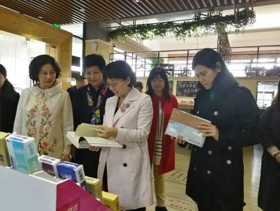 刘梅主席率队开展女性创业创新情况调研
