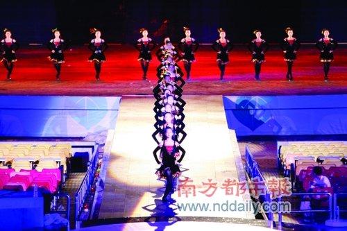 深圳大运会闭幕 揭秘闭幕式精彩节目(组图)
