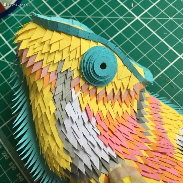 不可思议的手工纸张艺术(图文)