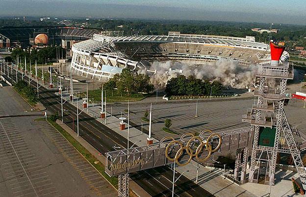 奥运留下的废墟之歌 究竟是浪漫还是无奈