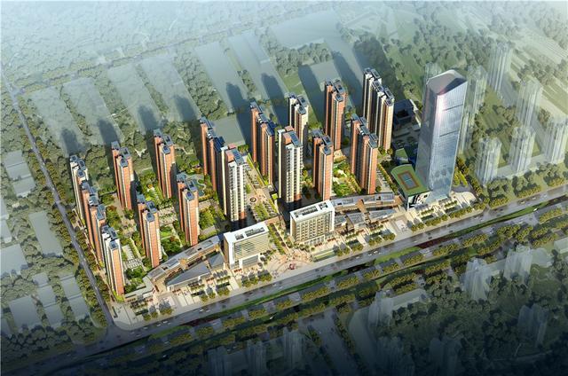大中华幸福城预计3月底营销中心开放